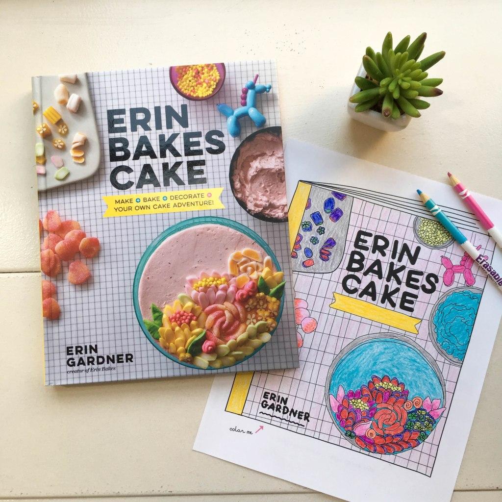 Erin Bakes Cake Pre-Order Gift!