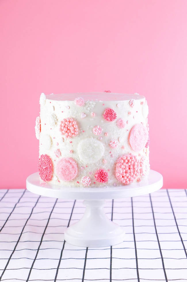 Chocolate Champagne Bubbles Cake Decorating Tutorial | Erin Gardner | Erin Bakes