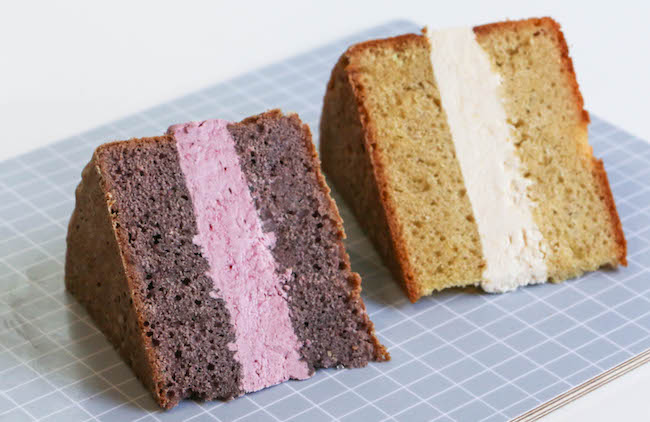 Blackberry Cabernet Cake and Peach Pino Grigio Cake | Erin Gardner | Erin Bakes