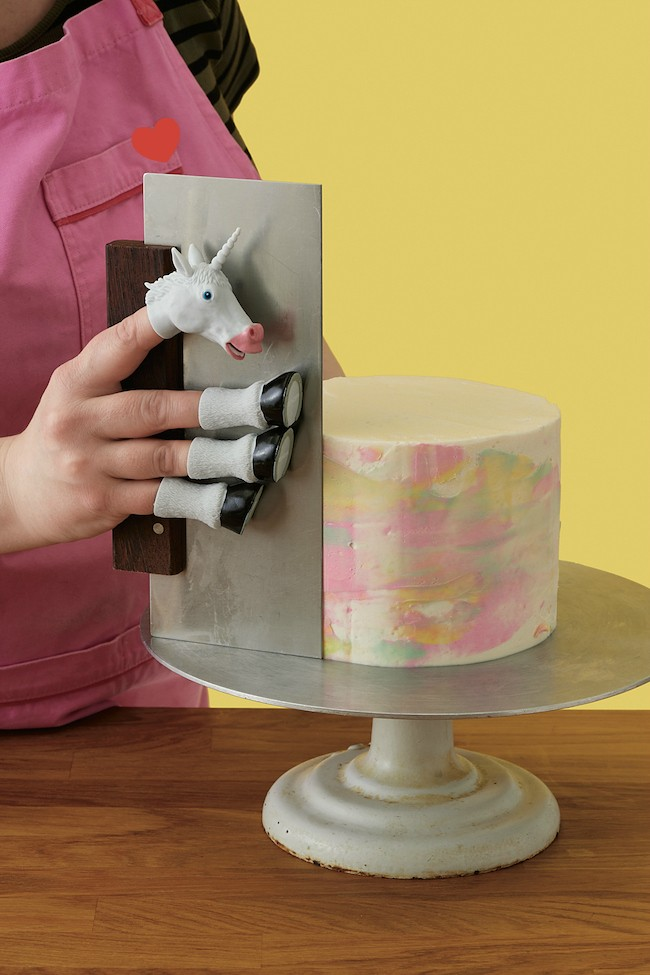 Handicorn and Large Bench Scraper from Erin Bakes Cake | Erin Gardner