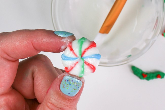 Painting the Pre-Made Decoration with Icing | Erin Gardner | Erin Bakes