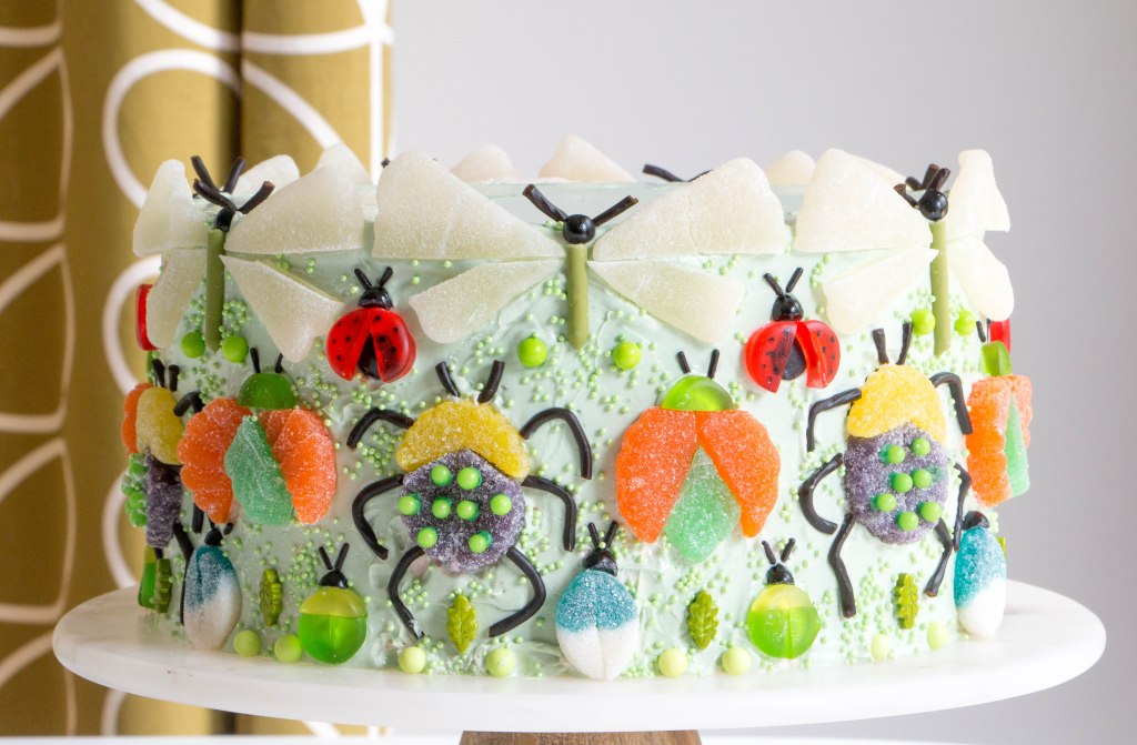 Make a Chic Gummy Bug Cake