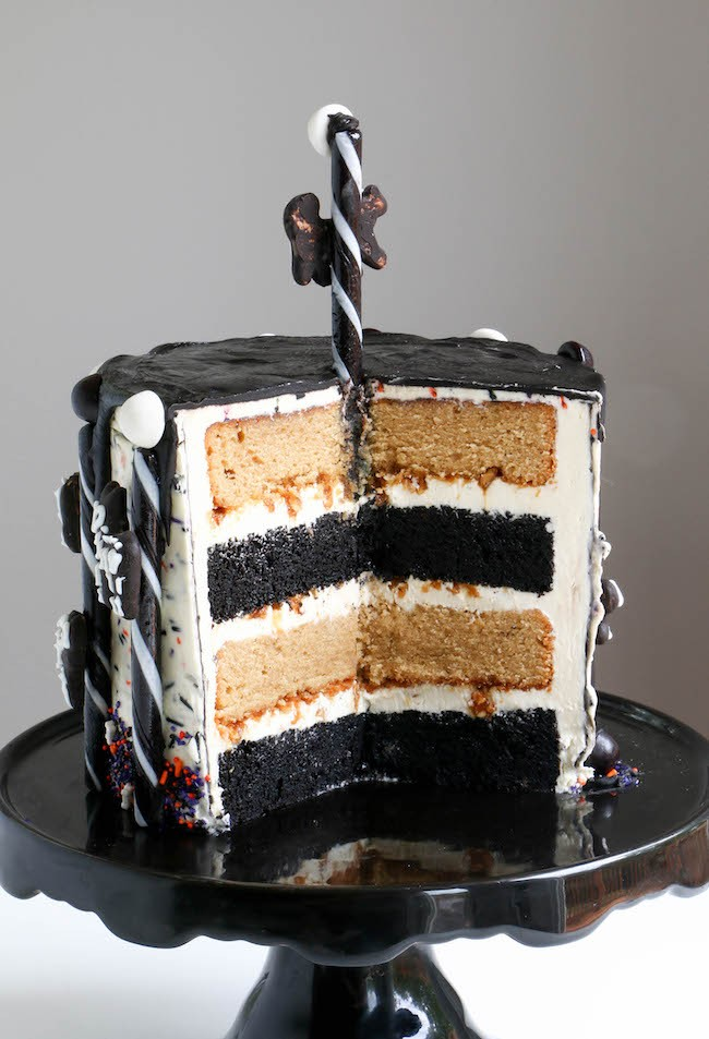 Candy Bar Layer Cake | Erin Gardner | Erin Bakes