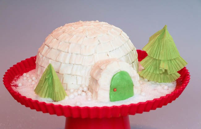 Igloo Cake | Erin Gardner for Craftsy