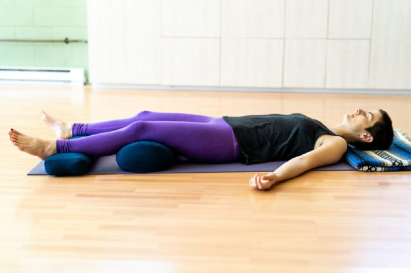 The yoga of dying: Corpse pose