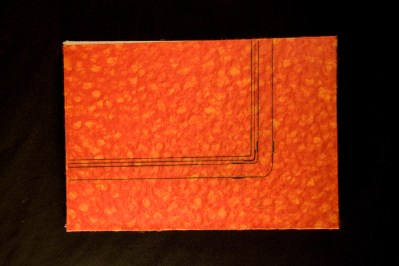 """Pipe Book, intaglio prints, 8"""" x 6.5"""", 2008."""