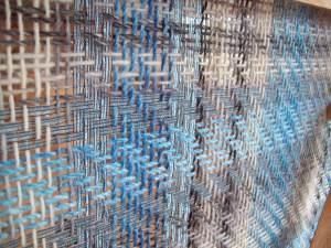 twill weave shawl