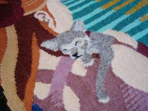 Nele tapestry detail