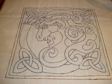 unicorn rug backing