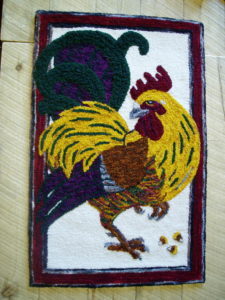 mr rooster needle tapestry