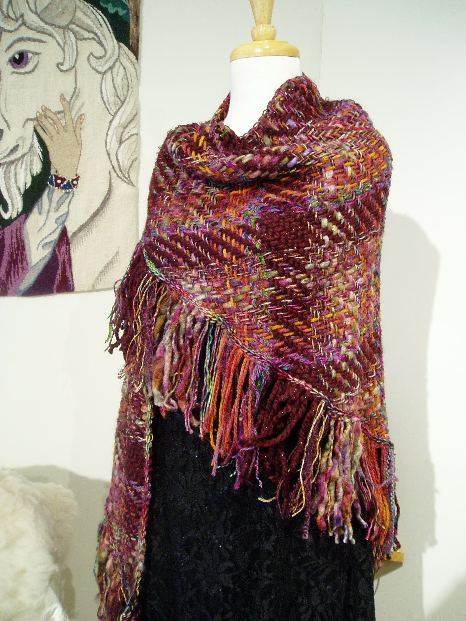 The Making of a Woven Shawl   Erindale Tapestry Studio