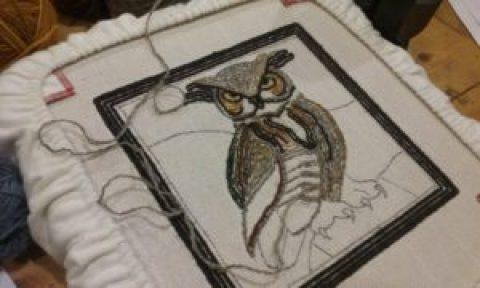 owl student piece