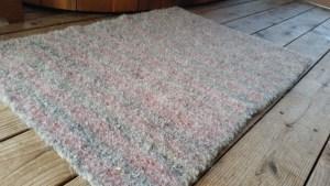 felted rug