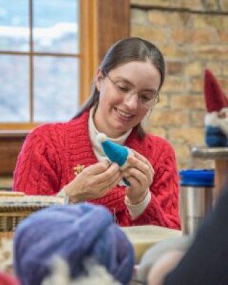 Laura teaching