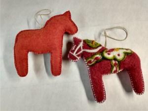 dala horse ornaments