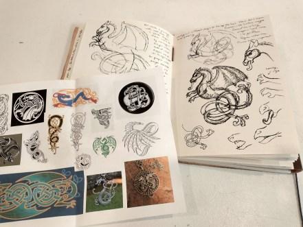 dragon sketches
