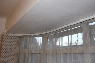 curtain rail for bay window