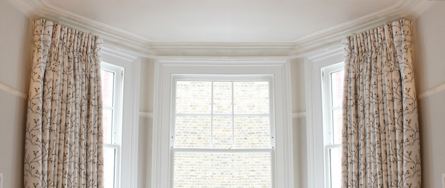 Erind Ontrack Curtain Blind Fitting Specialists Bay Window Silent Gliss Tracks Poles Roller Roman Venetian Blinds Installation Service Serving In West South West London