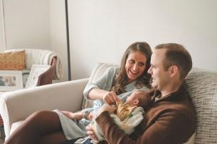 Maeve | Seattle Lifestyle Newborn Photographer