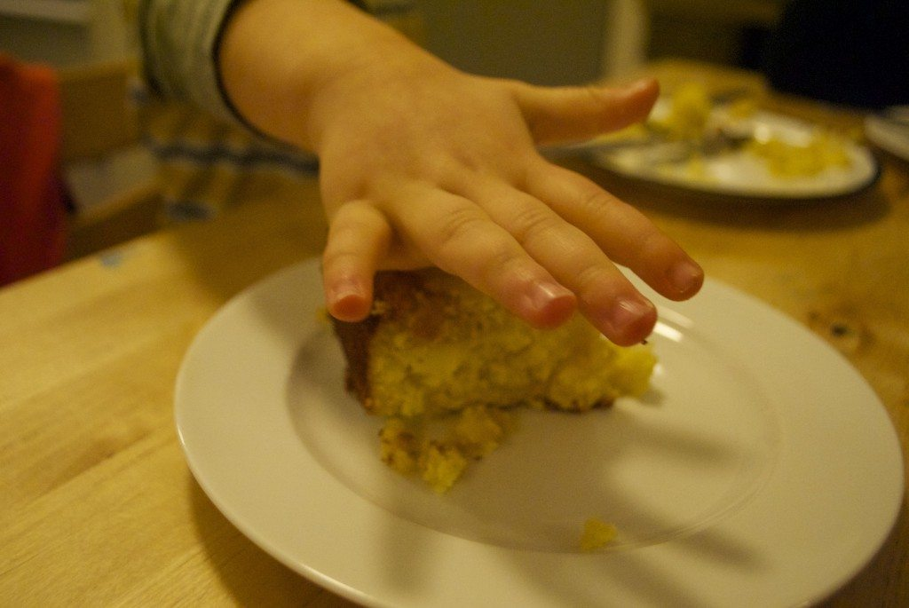 Sarah's mum's Norwegian Apple Cale | Erin at Large