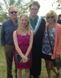 Proud family photo