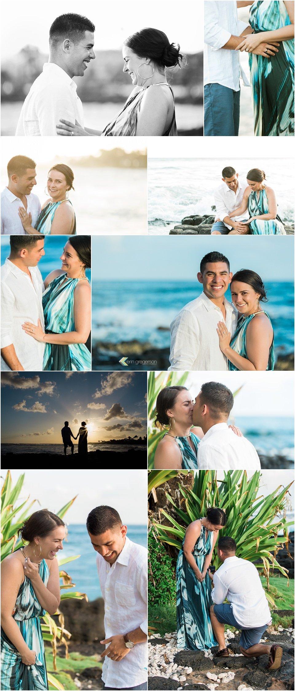 Kauai surprise proposal photo session