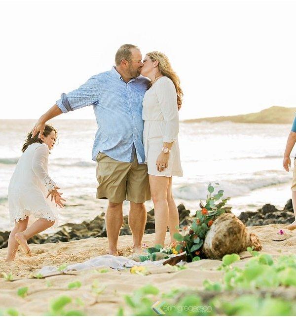 Kauai Vow Renewal Family Photo