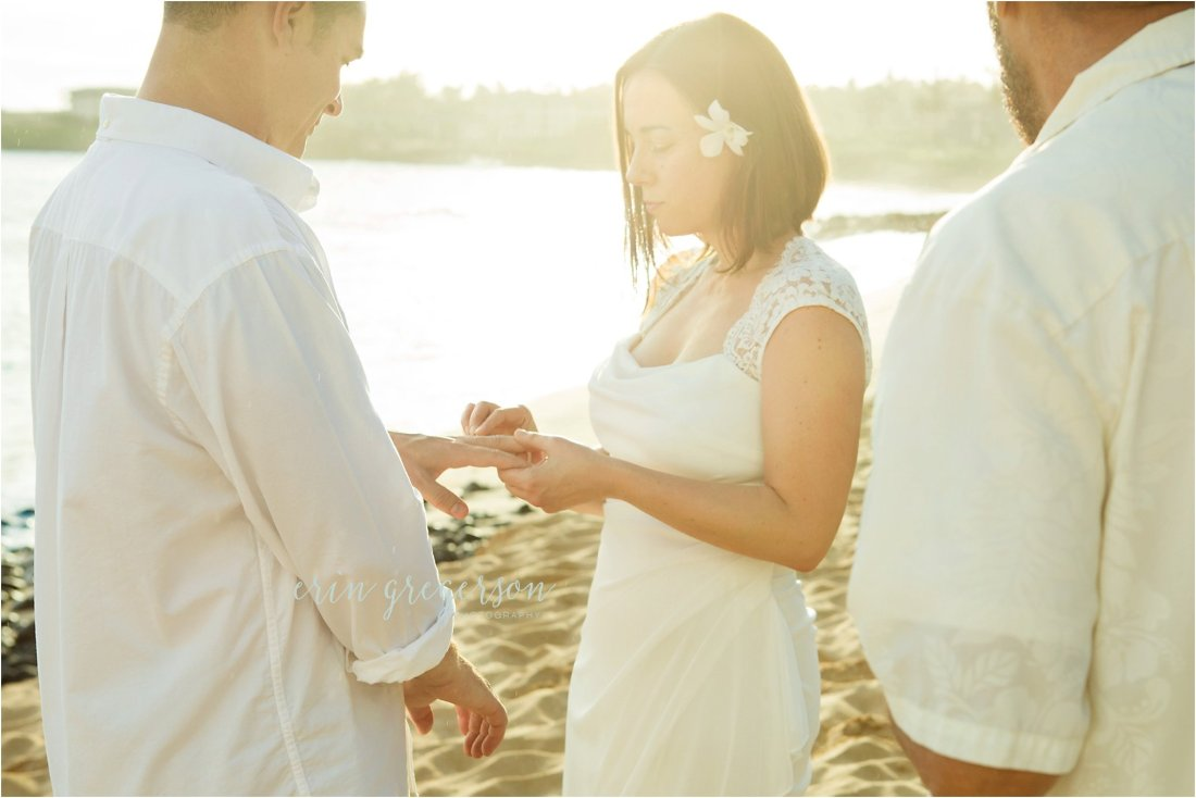 Kauai vow renewal ceremony