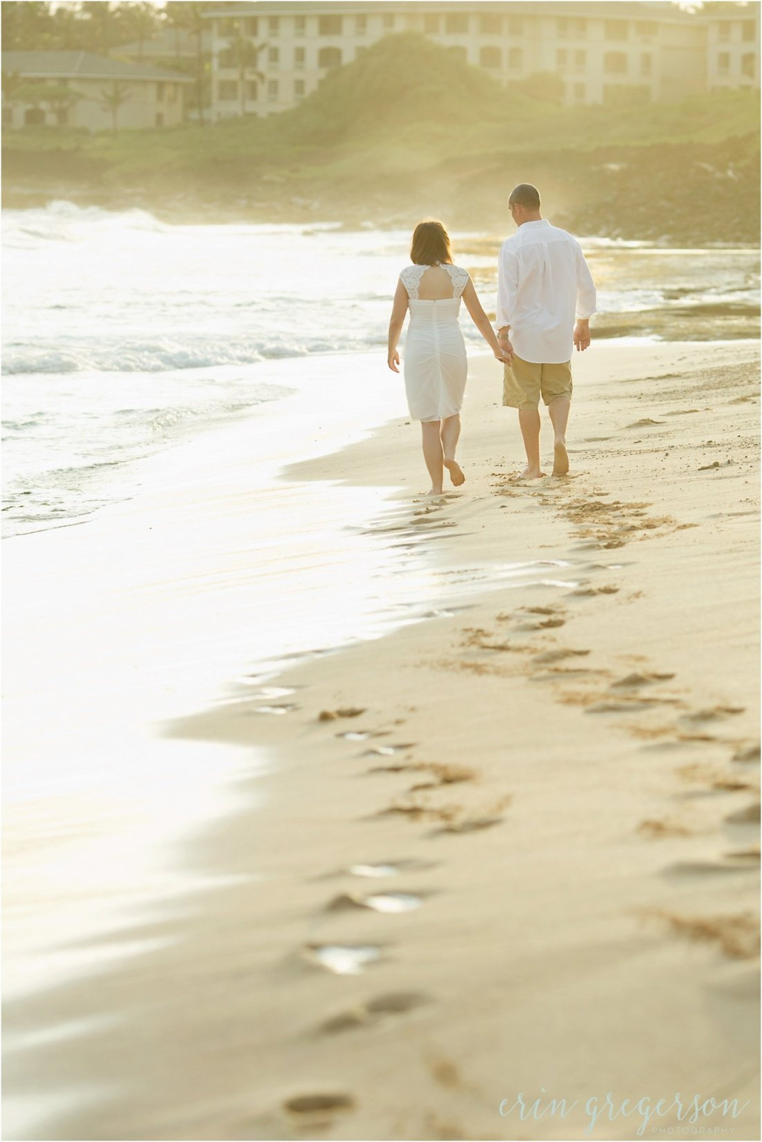 vow renewal Kauai beach