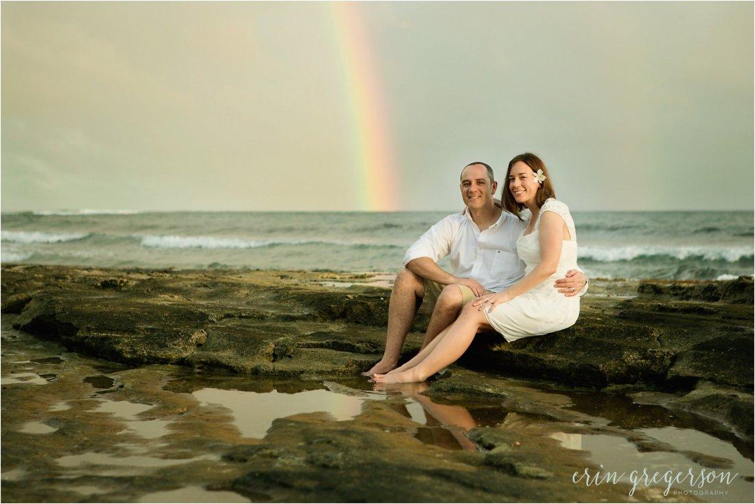 Kauai beach vow renewal