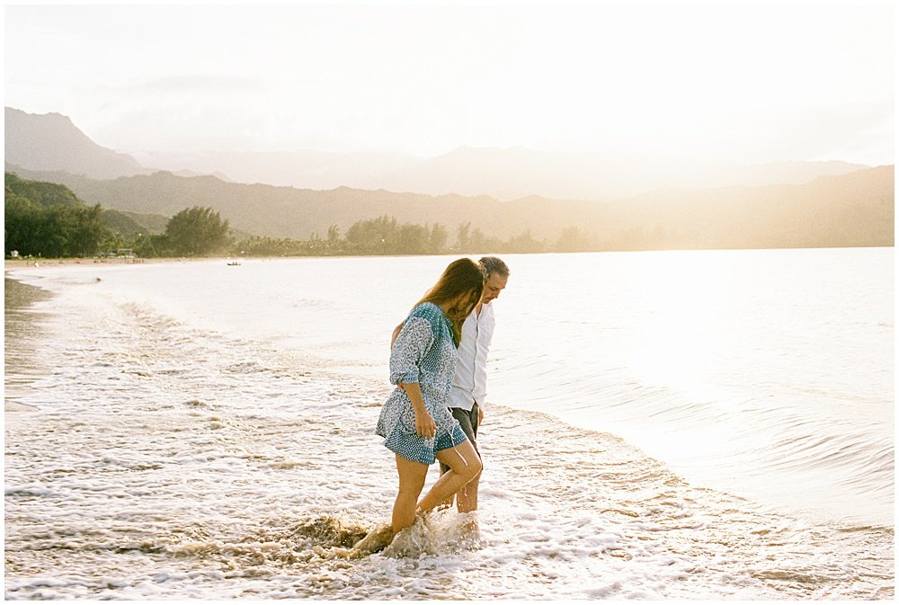 Hanalei Bay sunset session. Photos by Erin Gregerson