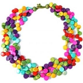 Coconut necklace
