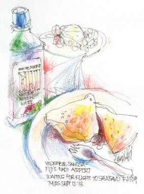 My samosa sketch at Nadi