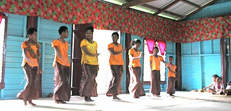 The girls dance