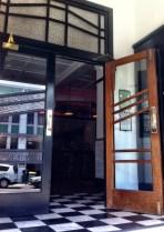 Doors in Art deco designs. Napier
