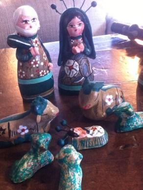 Little Nativity scene