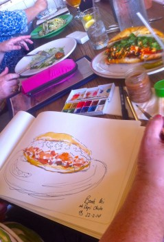 Sketching Lunch