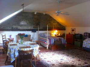 Our upstairs room