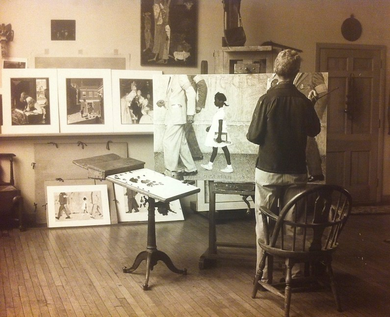 Rockwell at work