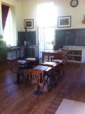 The original schoolroom