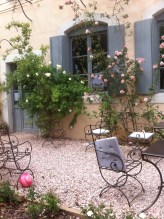 A beautiful cafe in Caunes
