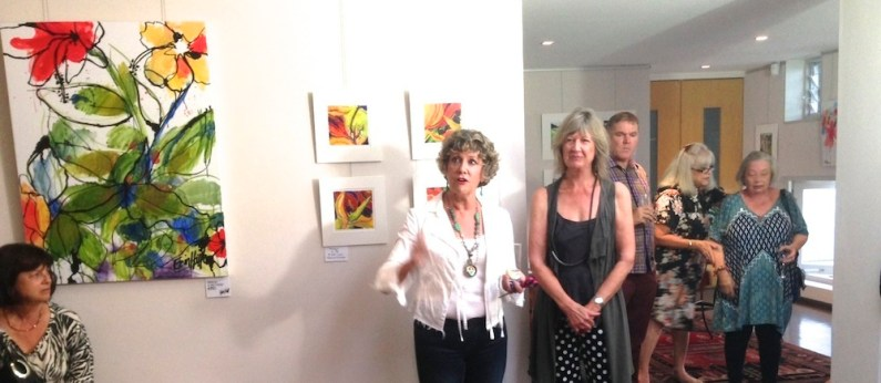 A few words at the Exh. Opening March '15