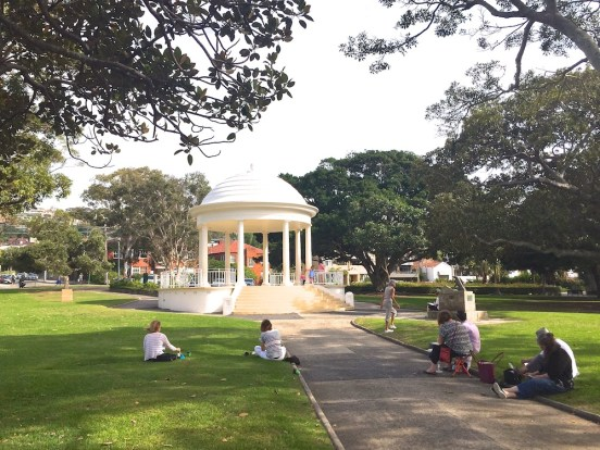 Saturday. Rotunda Balmoral