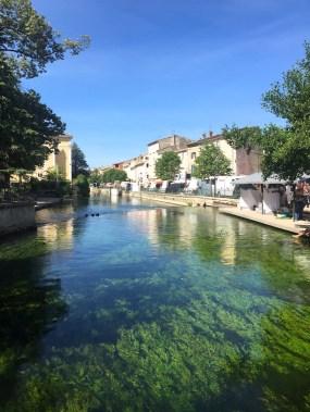 Canal at L'Isle sur le Sorgue MG_5876