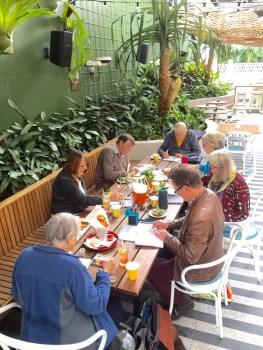 Thursdy. Lunch&Sketch Ivanhoe Hotel
