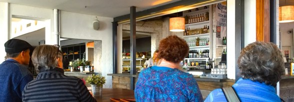 Tuesday. Bar at The Steyne