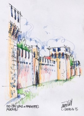 Avignon. The old walled city jpg