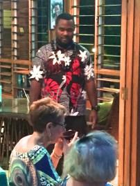 Saturday Fiji. Offering kava