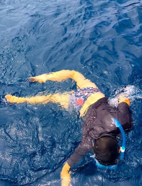 Tuesday Fiji. Sooze diving