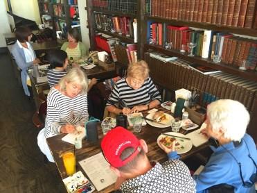 ThursGen. Hemingways sketching lunch